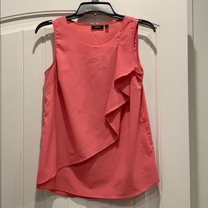 Sleeveless flowy salmon blouse from Apt. 9